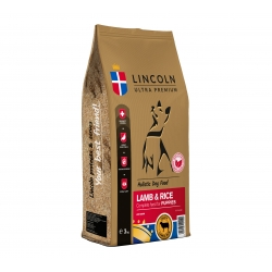 LINCOLN PUPPY LAMB & RICE 3 KG