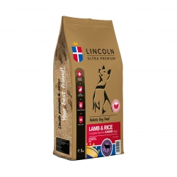 LINCOLN JUNIOR LARGE BREED LAMB & RICE 3 KG