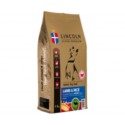LINCOLN ADULT LAMB RICE 3 KG