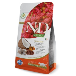 FARMINA N&D CAT QUINOA śledź 1,5 kg