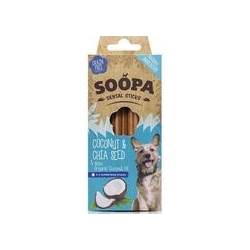 SOOPA PET Dental Sticks kokos i chia