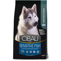 CIBAU Sensitive Fish Med/Max 12+2 kg