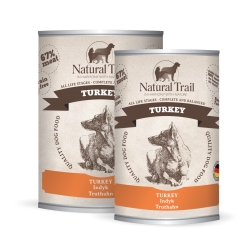 NATURAL TRAIL Dog TURKEY 800 g
