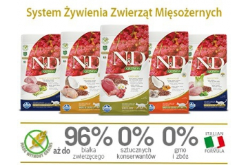 Innowacyjna linia FARMINA N&D QUINOA